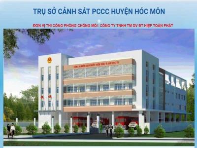 Trụ sở PCCC Hóc Môn